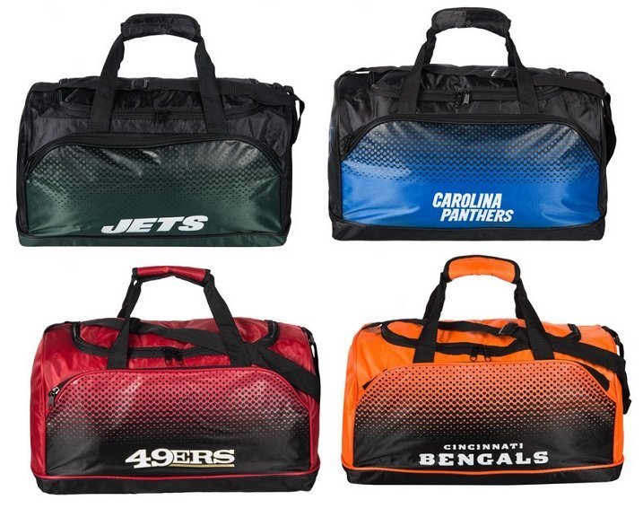 NFL Fade Holdall Sporttasche für 18,94€ inkl. Versand (statt 30€)