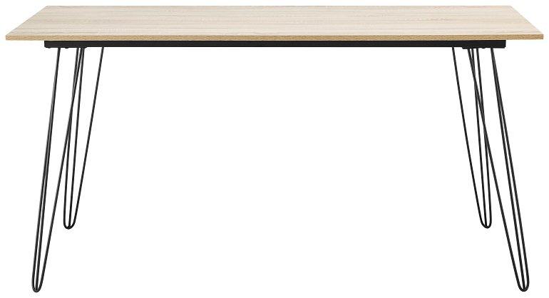 Bessagi Home Schreibtisch Kara in Grau 2