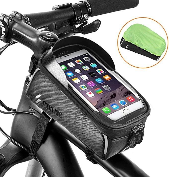 Sgodde Fahrrad Rahmentasche mit Smartphone Halterung für 8,34€ inkl. Prime Versand (statt 14€)