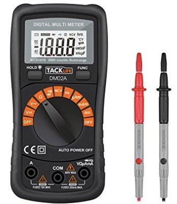 Tipp! Tacklife DM02A Klassisches Digital Multimeter für 6,99€ (statt 14€) @Prime