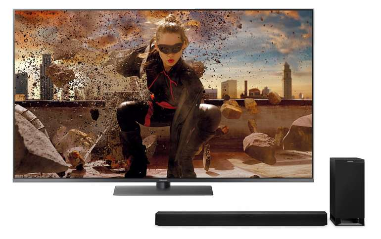 Panasonic TX-55FXW784 LED TV + Panasonic SC-HTB 700 Soundbar für 959,95€ inkl. Versand (statt 1292€)
