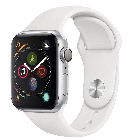 Apple Watch Series 4 GPS 40mm Aluminiumgehäuse + Sportarmband für 379,90€