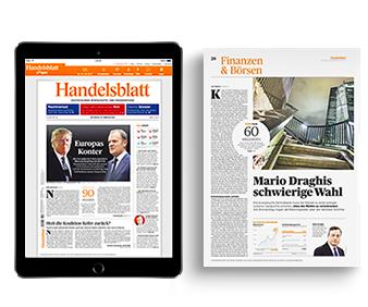 Für Studenten: 12 Monate Handelsblatt (Digitalpass) für 12€ (statt 17,99€ mtl.)