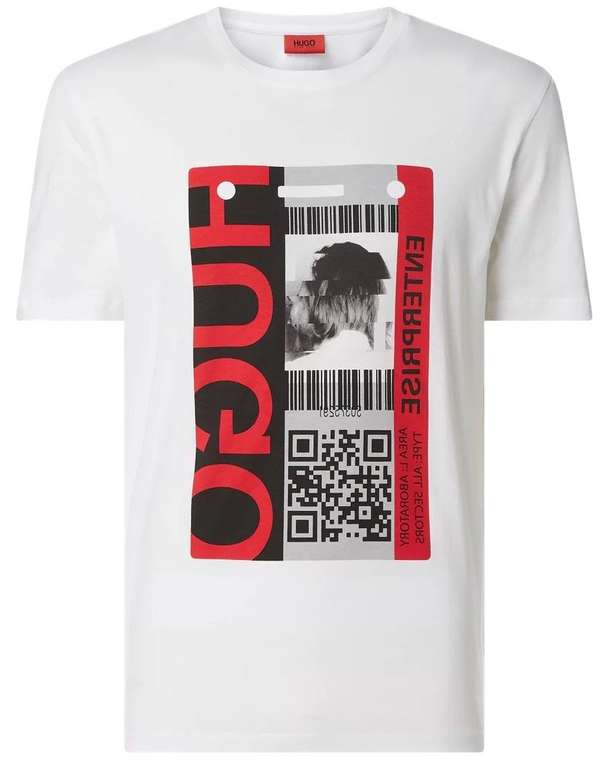 "Hugo Herren T-Shirt ""Ditentity"" mit Logo-Print für 33,99€ inkl. Versand (statt 45€)"