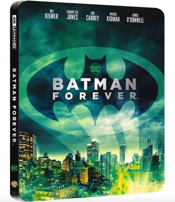 Batman Forever & Batman & Robin - Limited Steelbook Edition (4K Blu-ray + Blu-ray) für je 17,84€ (statt 26€)