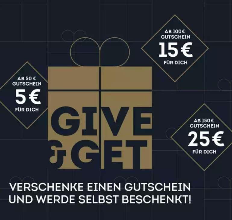 SportScheck: Wertgutschein kaufen & bis zu 25€ extra bekommen (je nach Bestellwert)