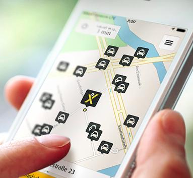 Mytaxi: 20% Rabatt für eine Taxifahrt deiner Wahl - Gültig an Februar WE