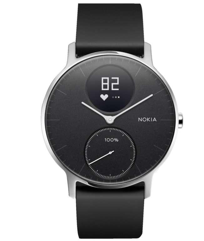 Withings Steel HR Smartwatch und Fitnesstracker (36 mm) für 124,89€ inkl. Versand (statt 140€)