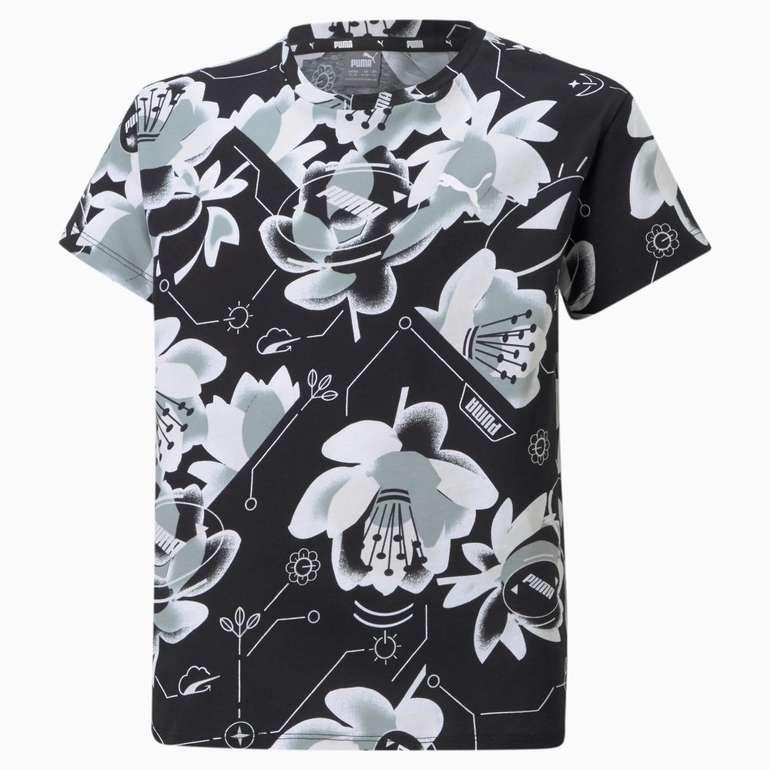 Puma Alpha Jugend T-Shirt in 2 Farben für je 13,96€ inkl. Versand (statt 18€)