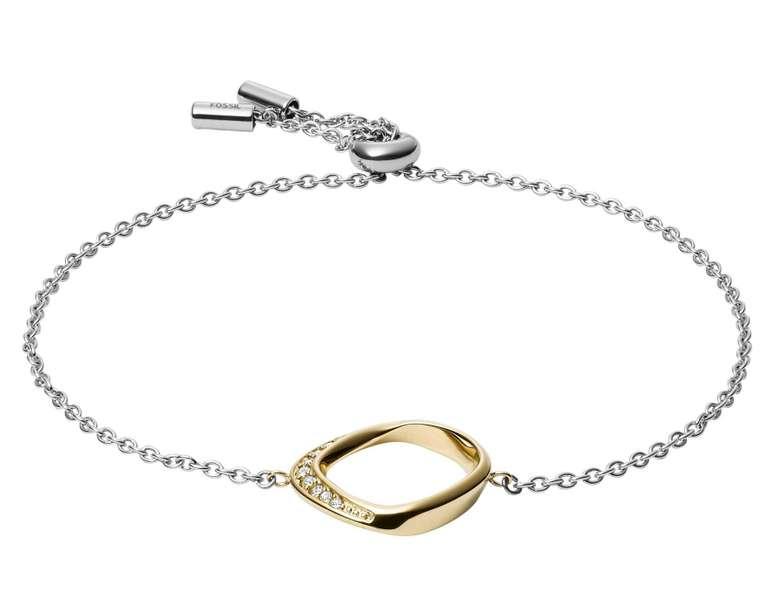Fossil Damen Armband Twisted (JF03200998) für 18€ inkl. Versand (statt 28€)
