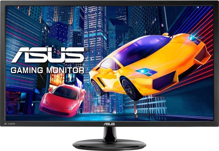 "Asus VP28UQG 28"" Monitor (TN, matt, 4K UHD, 60Hz, AMD FreeSync, 1ms) für 219€"