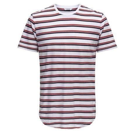 Only & Sons Herren T-Shirt 'Palatine SS Longy Tee' für 8,83€ inkl. VSK