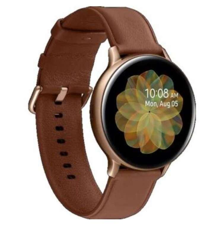 Samsung Galaxy Watch Active2 LTE (Stainless Steel, 44mm, Echtleder Armband) für 229,99€ inkl. Versand