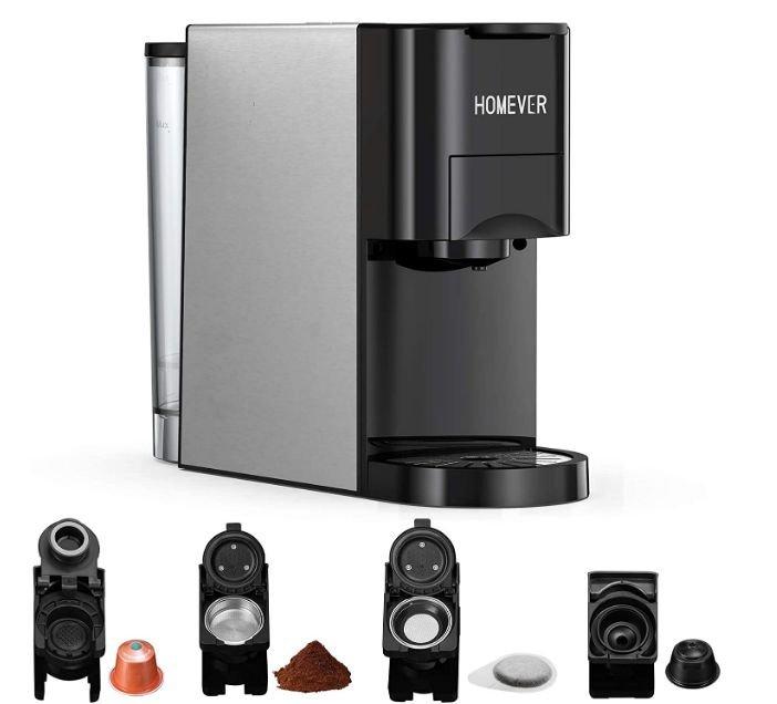 Homever Kaffeemaschine für 76,99€ inkl. Prime Versand (statt 109,99€)