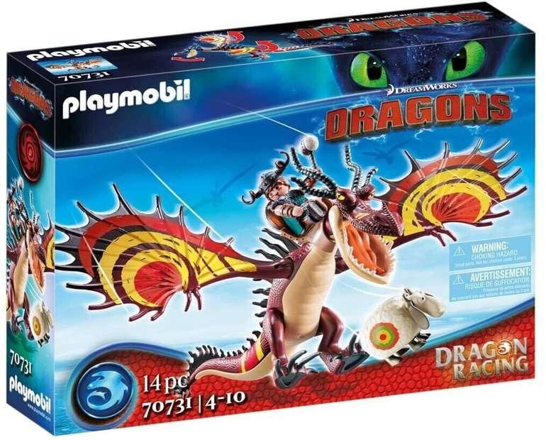 Prime Days: Playmobil Dragon Racing: Rotzbakke und Hakenzahn (70731) für 20,99€ inkl. Prime Versand (statt 26€)