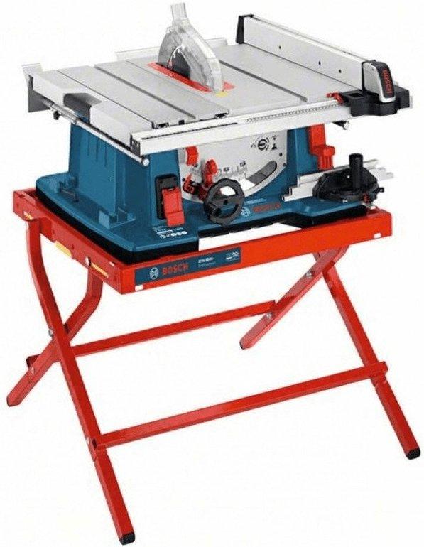 Bosch Tischkreissäge GTS 10 XC mit Maschinenständer für 565€ inkl. Versand