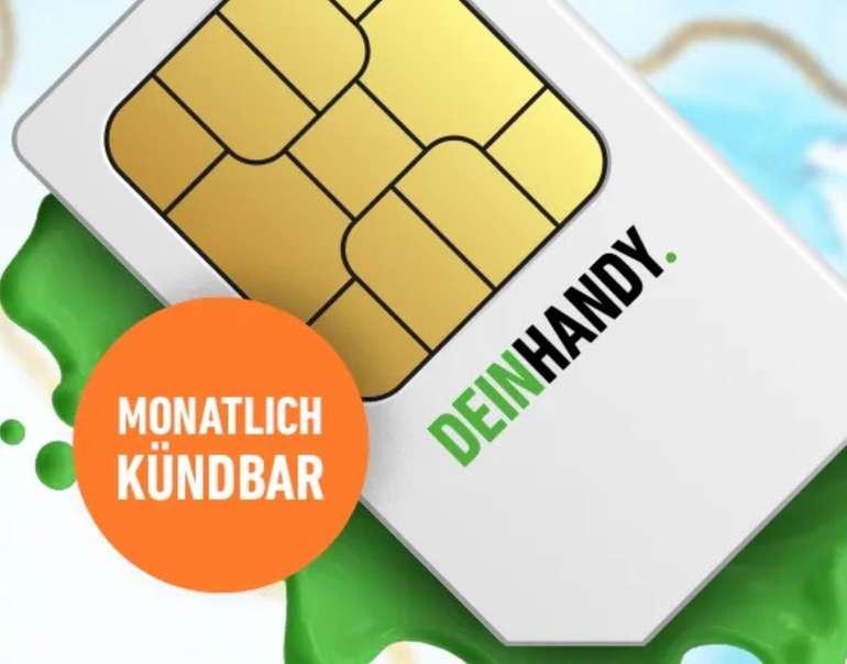 DeinHandy O2 Allnet-Flat mit 10GB LTE (mtl. kündbar!) für 14,99€ mtl. + 10€ Bonus bei Rufnummernmitnahme