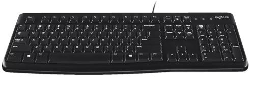 Logitech K120 Business Tastatur in schwarz für 8,88€ inkl. Versand (statt 14€)