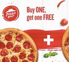 Pizza Hut: 2 für 1 Pizza Gutschein nur 1€ + 5€ Groupon Guthaben (ausgew. User)