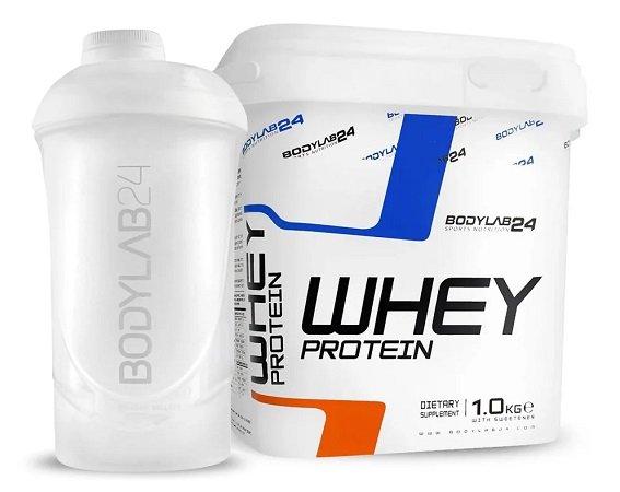 1kg Bodylab24 Whey Protein (4 Sorten zur Wahl) + Shaker für 9,99€  inkl. VSK