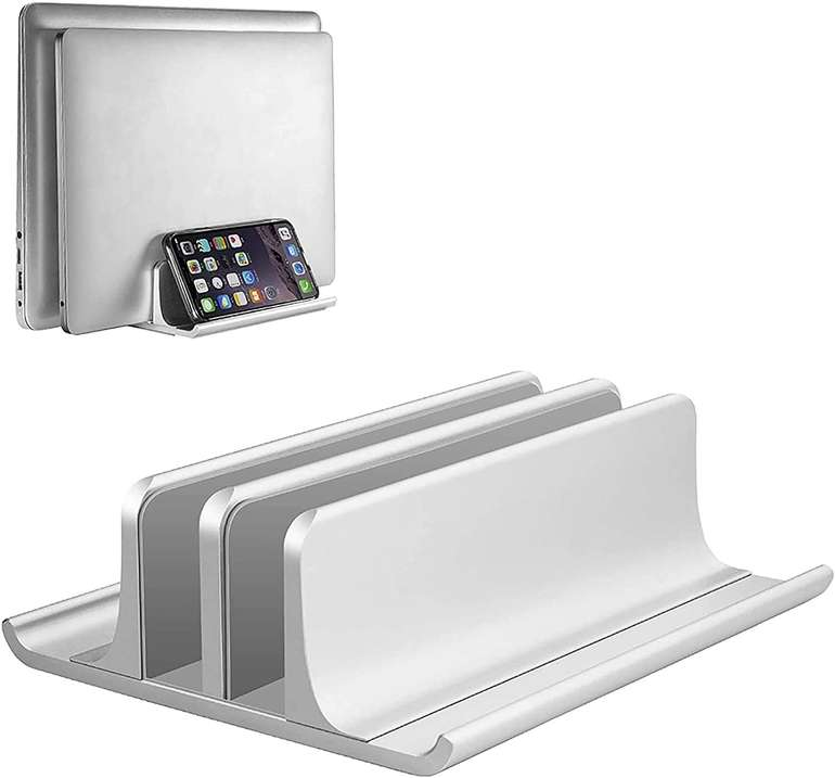 Vaydeer vertikaler Laptopständer in 2 Farben ab 11,99€ inkl. Prime Versand (statt 24€)