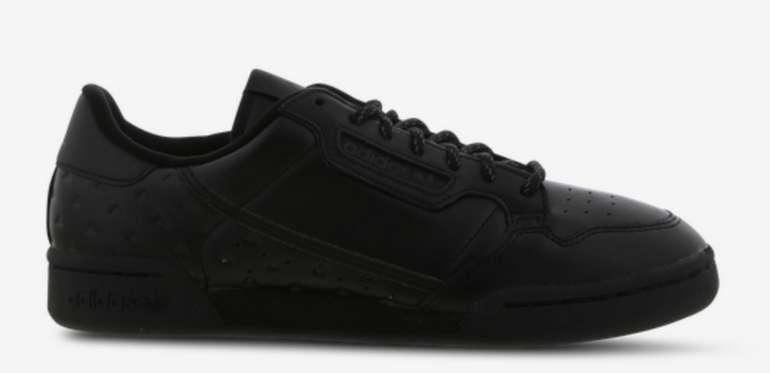 adidas Pharrell Williams Continental 80 Herren Schuhe in Schwarz für 59,99€inkl. Versand (statt 120€)