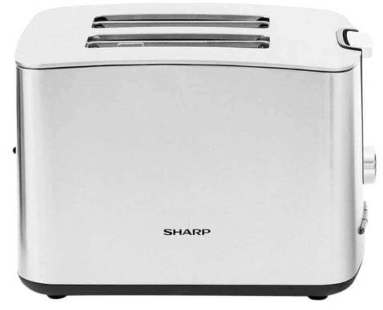 Sharp SA-CT2002I - 2-Schlitz-Toaster mit 7 Bräunungsstufen und 850 Watt für 17,59€ (statt 40€)