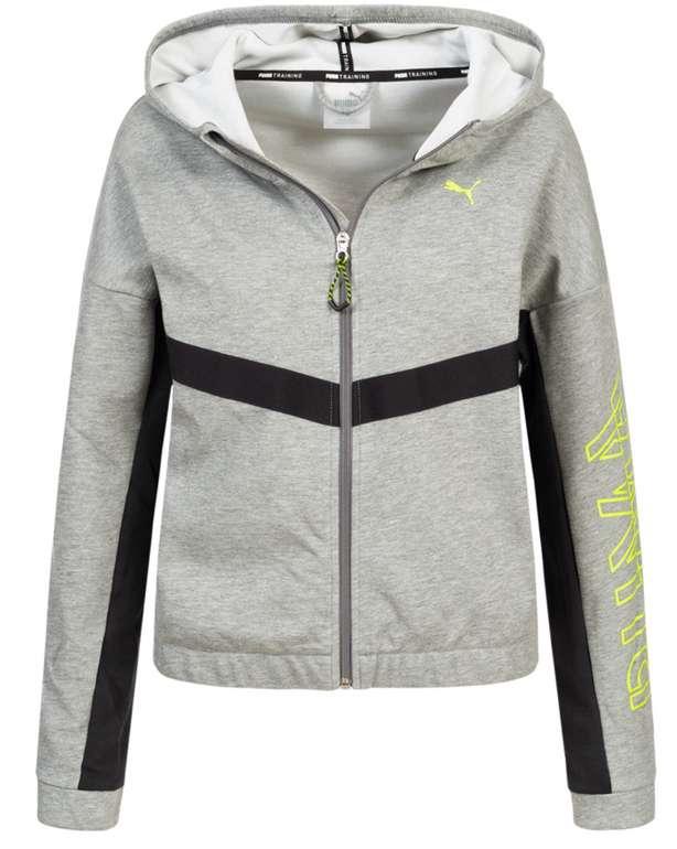 Puma Hit Feel It Damen Sweatjacke in Grau für 28,94€inkl. Versand (statt 50€)