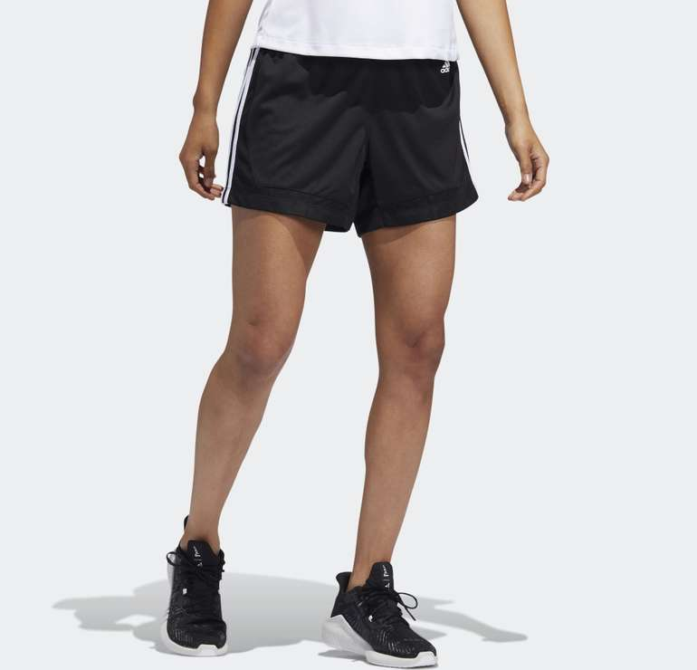 Adidas Damen 3-Streifen Mesh Shorts für 12,23€ inkl. Versand (statt 22€) - Creators Club