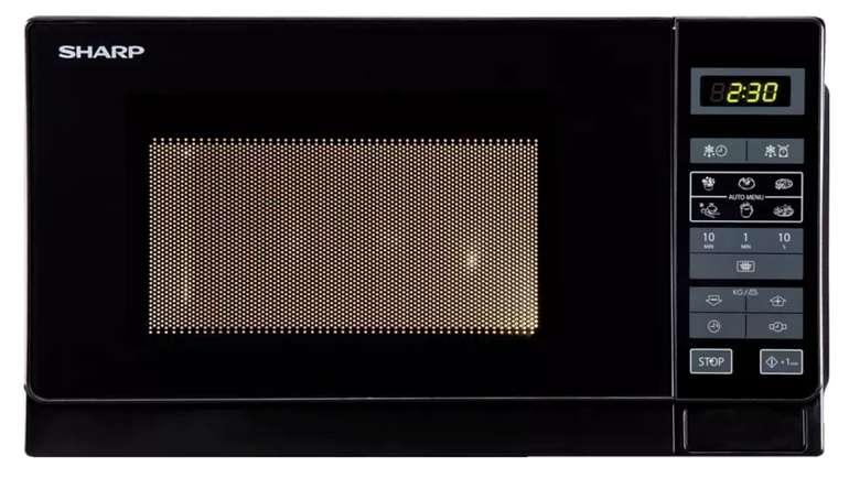 Sharp R742BKW Mikrowelle mit 900 Watt für 79€ inkl. Versand (statt 99€)