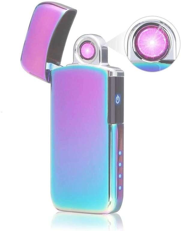 Nasum Lichtbogen Feuerzeug (wiederaufladbar, winddicht) für 10,49€ inkl. Prime Versand (statt 15€)