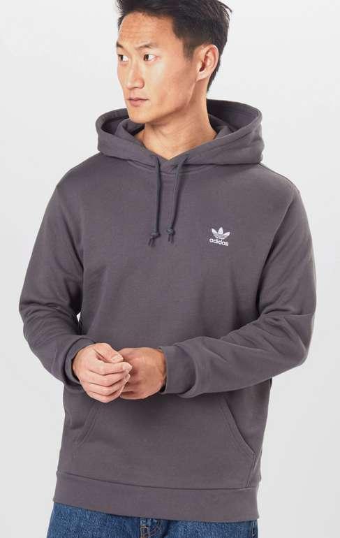 adidas Originals Trefoil Essentials Hoodie in Grau ab 12€ inkl. Versand (statt 33€)