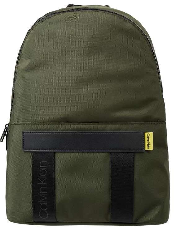 Calvin Klein Rucksack mit recyceltem Polyester in Gelb oder Grün für 29,99€inkl. Versand (statt 45€)