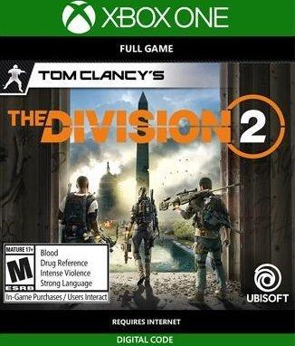 Tom Clancy's The Division 2 (Xbox One) als Download Code für 16,29€