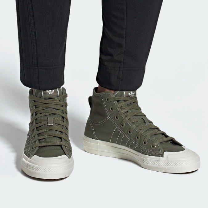 Adidas Originals Nizza Hi RF Sneaker (Herren) schon ab 37,48€