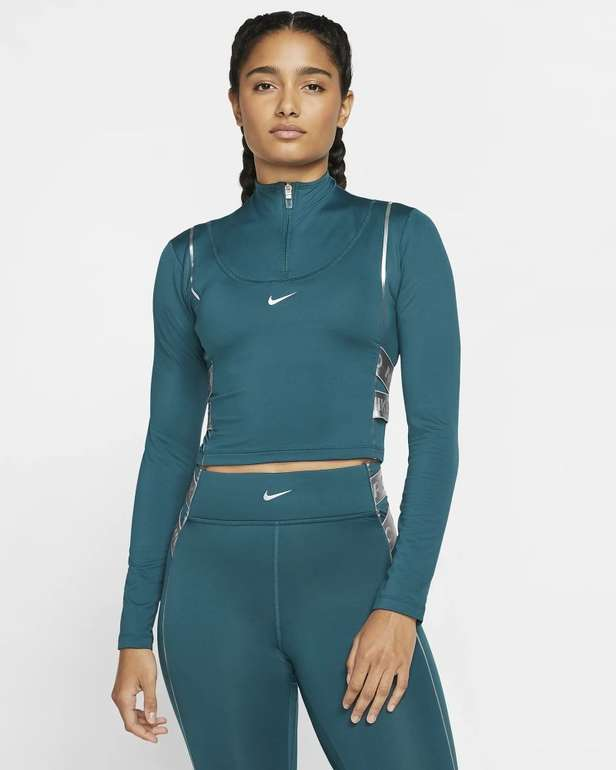 Nike Pro HyperWarm Damen Langarm Oberteil in 2 Farben für je 33,98€ (statt 47€) - Nike Membership!