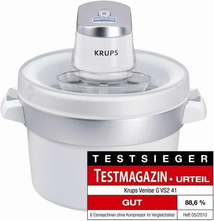 Krups Eismaschine Venise G VS241 ab 53,95€ inkl. Versand