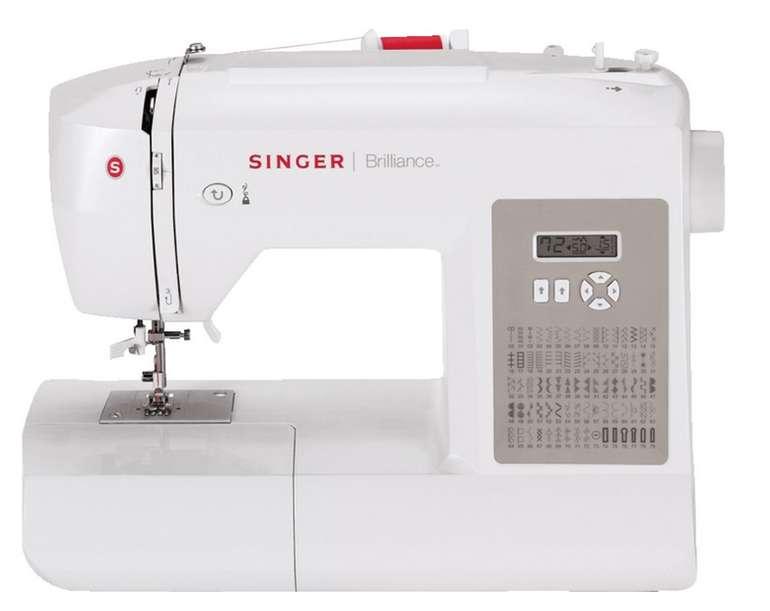 Singer Brillance 6180 Elektronik-Nähmaschine für 149€ (statt 170€)