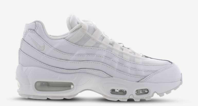Nike Air Max 95 Damen Schuh in weiß für 79,99€inkl. Versand (statt 96€) - nur Größe 36,5 und 38,5!