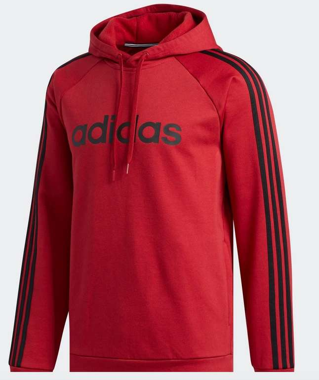 Adidas M 3S LIN FL P/O Hoodie für 26,23€ inkl. Versand (statt 44€)