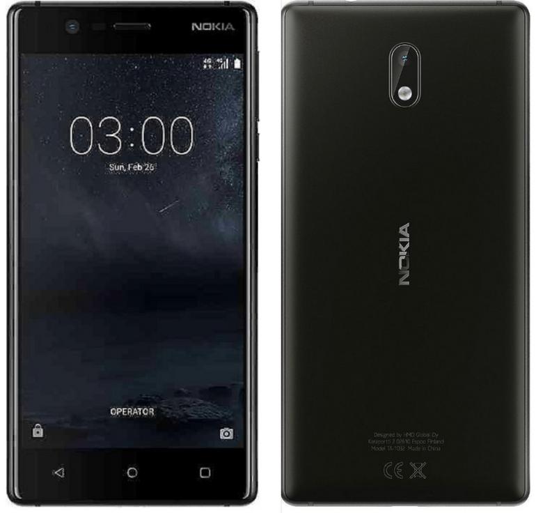"Nokia 3 - 5"" Smartphone (16GB, Dual Sim) für 89,90€ inkl. Versand (statt 120€)"