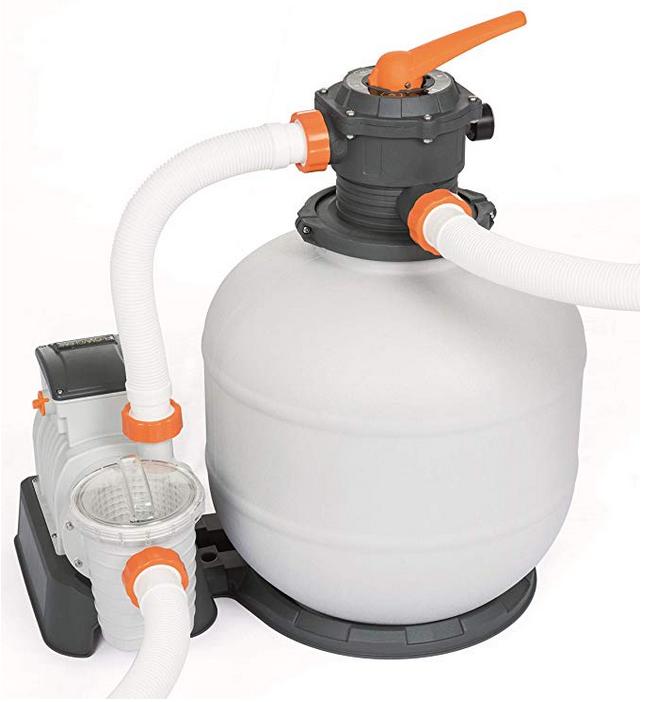 Bestway Flowclear Sand Filter (58499) mit 7.571 l/h für 118,97€ (statt 137€)