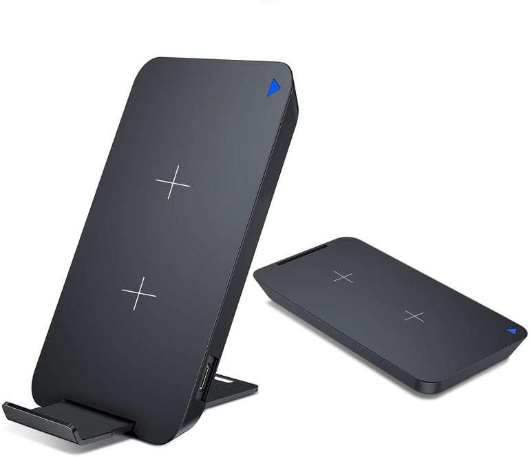 Vanmass Fast Wireless Charger Qi Ladestation mit abnehmbaren Standfuß für 10,19€ inkl. Prime Versand