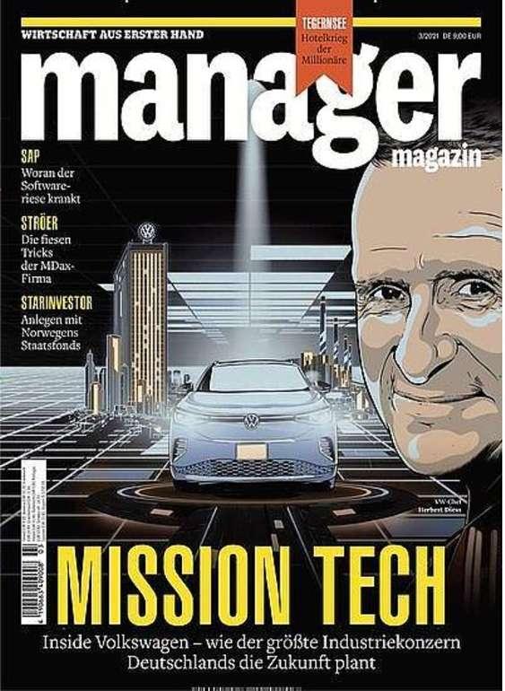 """Jahres-Abo """"Manager Magazin"""" mit 12 Ausgaben für 103€ + z.B. 80€ Bestchoice Gutschein"""