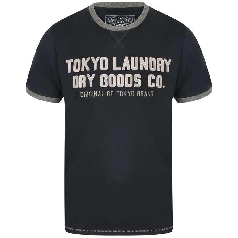 Tokyo Laundry Williamburg Logo Herren T-Shirt für 7,28€ (statt 10€)