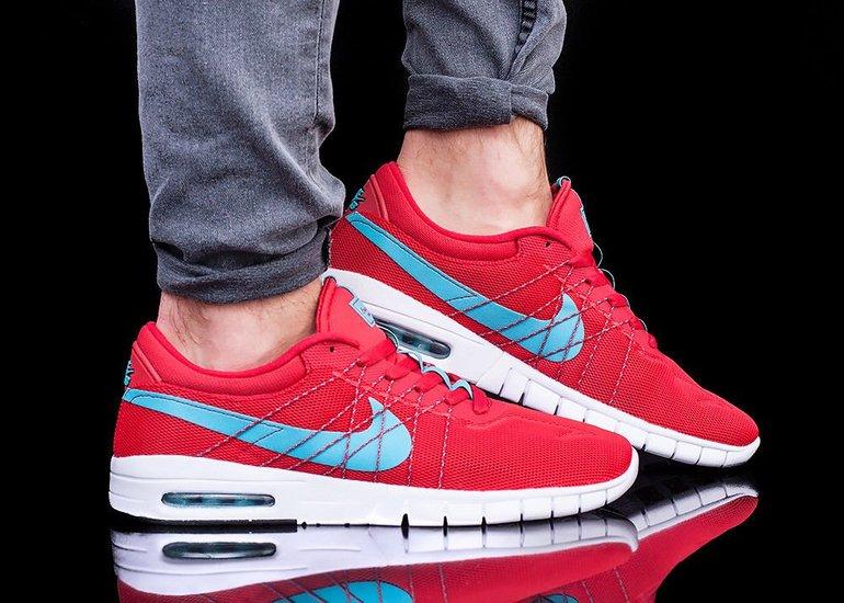 Nike SB Koston Max Sneaker in rot für 69,99€ inkl. Versand (statt 85€)