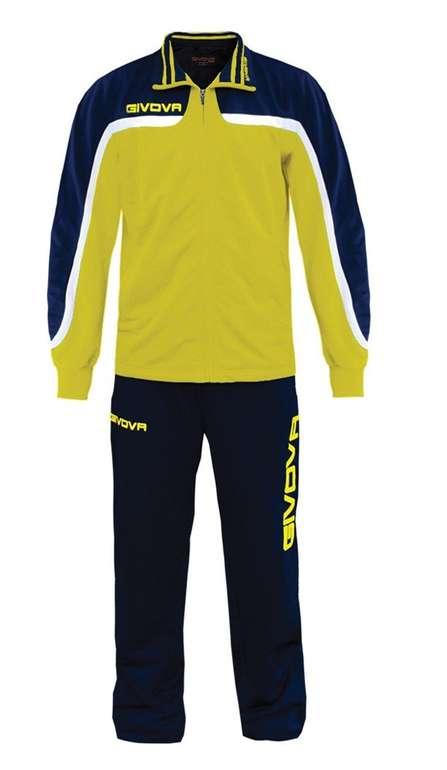 Givova Tuta Europa Full Zip Trainingsanzug für 11,72€ inkl. Versand (statt 16€) - Kindergrößen!