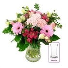 BlumeIdeal: 20% Rabatt auf fast alle Blumensträuße, z.B. Romanze + Vase 24,98€