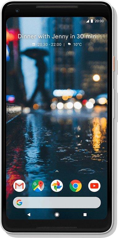 Google Pixel 2 XL Smartphone mit 64GB für 139,99€ inkl. Versand (B-Ware)