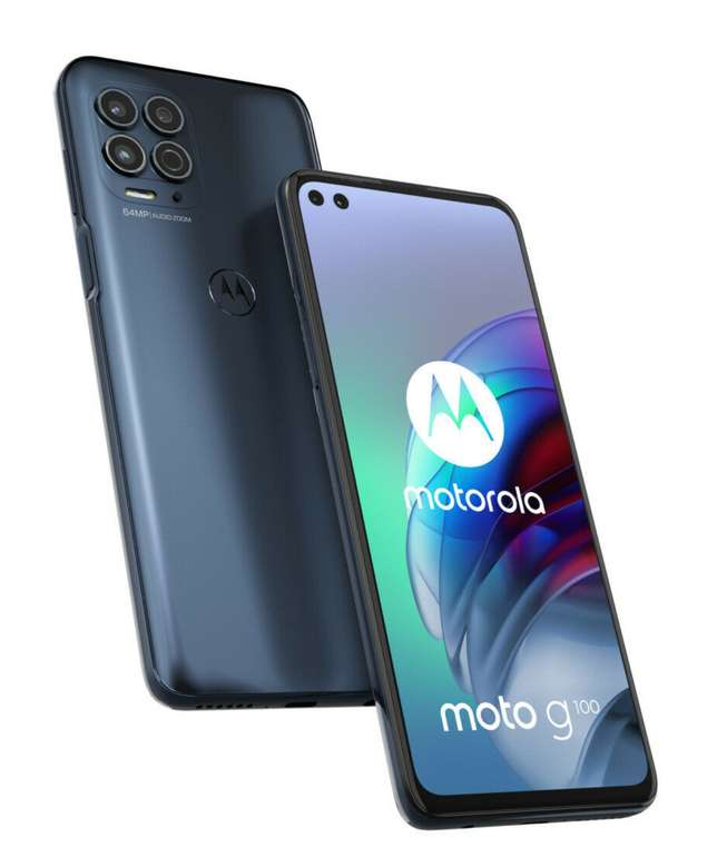 Motorola Moto G100 6,7Zoll Android Smartphone 8GB/128GB 5G für 389€ inkl. Versand (statt 430€)